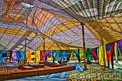 madrid mon amour I - cristallo (Bernardo Marchetti) Tags: madrid art architecture de tent installation cristal federico bedouin palacio tuiza guzmn