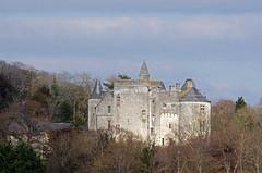 Coutures (maine-et-Loire). (sybarite48) Tags: france tower castle torre tour toren castelo schloss turm castello  castillo kasteel  maineetloire  kule zamek     chteaufort wiea  coutures   birkale