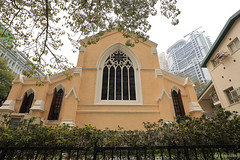 St. John's Cathedral (tomosang R32m) Tags: church hongkong central stainedglass chiesa  stjohnscathedral