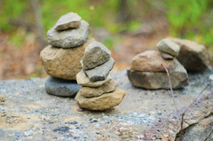 CairnCloseup (a_byle) Tags: nature outdoors rocks hiking manmade cairn