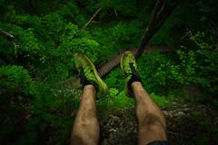 Vertigo (itsnickpryor) Tags: park cliff rock forest foot hawaii scary nikon rainforest midwest shoes state action extreme vertigo nike adventure explore climbing caves trail jungle tropical cave exploration rockclimbing pnw maquoketa footdangling