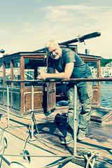 The Skipper (Sten Dueland) Tags: havnadagane haugesund boat skipper captain maud pleasureboat