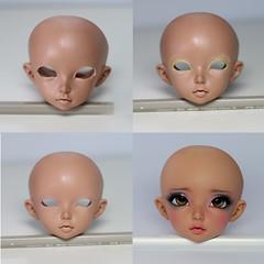 Reconstructions Process for reference (Rakeru Space) Tags: eye make up bjd fairyland eyelid sensei reconstruction ante rakeru minifee senseis