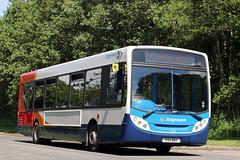 27752 PX11 DNY (Cumberland Patriot) Tags: west bus buses floor low north super cumbria depot motor e300 300 alexander dennis ltd dart cumberland cms services stagecoach enviro adl in slf workington 27752 lillyhall px11dny