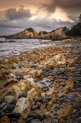Quarry Beach, Mallacoota area (photo obsessed) Tags: australia mallacoota mallacootaforeshorereserve mallacootaarea oceania quarrybeach sunset victoria
