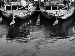 Japan Kite Tour 2016 (paulchapmanphotos) Tags: leica bridge bw white black japan canal panasonic summicron niigata barge kitefestival tako 75mm f20 kichi shirone gx7 takokichi