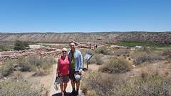 Fred & Laura at Tuzigoot NM