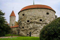 Great Coastal Gate and Fat Margaret Tower. (Jonan G.E) Tags: architecture canon europe tallinn estonia baltic medieval historic oldtown tallin medievalcity canon40d jonanesguerra
