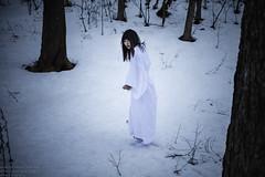 Snow Village (TAKAGI.yukimasa1) Tags: portrait people woman snow girl beauty canon dark eos japanese cool fineart mysterious asiangirl 5dsr