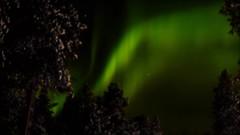 My Aurora Movie (Mark Rainbird) Tags: green canon finland lapland northernlights auroraborealis ef50mmf14usm nellim wildernesshotel eos5dmarkiii
