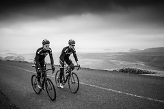 DSC07677 (Gumundur Rbert) Tags: sky white mountain black 35mm cycling climb iceland cloudy f14 sony climbing rolf prima reykjavk sland ares a7ii pansonic samyang reihjl rokinon