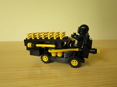 6894-3 - Blacktron Hornet with Support Vehicle (yetanothermocaccount) Tags: classic lego space moc blacktron