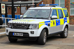 Royal Navy Police Land Rover Discovery 4 Patrol Vehicle (PFB-999) Tags: car disco day 4x4 4 navy royal police rover national land vehicle leds discovery patrol cleethorpes forces grilles response unit armed facelift 2016 lightbar rnp wj64evp