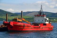 Admiral Day (Zak355) Tags: scotland riverclyde boat ship scottish shipping dredger bute rothesay workboat isleofbute admiralday