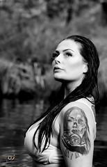 Ida - inked (Gjesdal.org) Tags: portrait blackandwhite bw norway tattoo ink nikon no ida rogaland d810 drangsdalen nikon70200mmf28gafsvriied