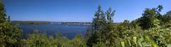 Gatineau River (lezumbalaberenjena) Tags: ottawa ontario canada panorama panoramic view river gatineau