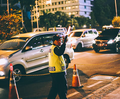 Security (Akmal Shihab) Tags: camera new city light sunset portrait sky people sun holiday flower macro building guy green slr nature beautiful car yellow night speed canon buildings happy person 50mm cool cityscape view bokeh good flag journal perspective tunnel automotive security national jakarta adobe malaysia visuals dslr visual malaysian ef minimalist jkt anythinggoes 62 mercy seren tunnelvision lightroom 6d mercedez niketalk canonlens urbancity eflens flowerbokeh bokehlicious macromondays canon6d vsco visitindonesia vscocam gameoftones visualgang agameoftones