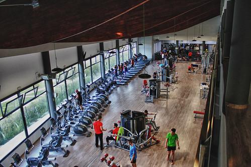 EPTI Campus 800 sq. metre gym floor area