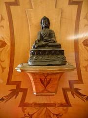 DSCN0509 (clare.mcm) Tags: england london statue kent bedroom buddha greenwich buddhism artdeco edwardian elthampalace eltham buddhastatue courtaulds artdecobedroom