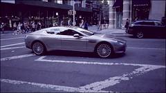 Nice Car Dude (Explore 7/1) (Tommy Bass) Tags: nyc newyorkcity manhattan 35mmfilm astonmartin canoneos650 kodakfilm flatirondistrict kodakultramax400 astonmartinrapides