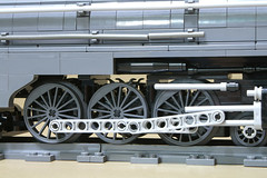 Dreyfuss_Hudson_14 (SavaTheAggie) Tags: lego steam engine locomotive hudson 464 henry dreyfuss new york central system nyc railroad train trains streamlined streamliner j3a