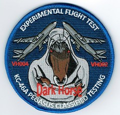 KC-46A Dark Horse - Experimental Flight Test Patch (Liembo) Tags: pegasus boeing usaf tanker kc46a vh004 vh002
