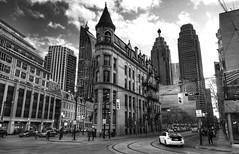 Flatiron building, Toronto (Westhamwolf) Tags: city toronto canada building taxi capital flatiron