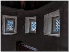 The tower (Hugh Stanton) Tags: windows castle spiral fort attic banister medievil