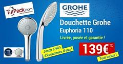 Douchette grohe euphoria (TiliPack.com) Tags: euphoria grohe plombier plomberie douchette