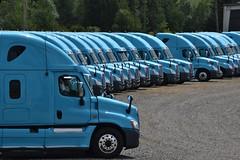 Road ready (Don's View) Tags: blue truck trucks semitruck freight freightliner maytown freightlinertrucks