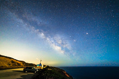 Milky Way Practice Shot (AlexGlanville) Tags: stars milky hwy1