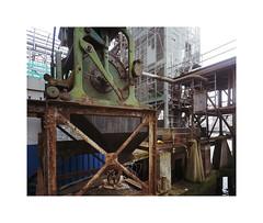 industrial (ha*voc) Tags: 120 film mediumformat rotterdam industrial rusty rangefinder 6x7 urbanfragments kodakportra400 mamiya7ii 43mm industrialfragments