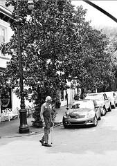 Downtown (davemihaly) Tags: kodak kodaktmax film bw blackandwhite savannah savannahga georgia canon canoneoselaniie canonelaniie
