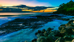 froggy beach sunrise (rod marshall) Tags: sunrise snapperrocks sunrisesnapperrocks froggybeachsunrise