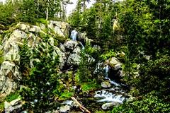 Waterfall (danieldeoux) Tags: verde green nature water waterfall vert cascade cascada nouvielle rservenaturelle