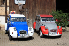 Duo Citron 2CV (fangio678) Tags: voiture voituresanciennes ancienne collection cars classic coche oldtimer youngtimer french francaise citron 2cv