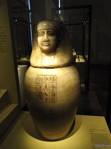 Vaso canopo (Museo Arqueológico Nacional)