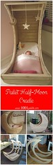 Homemade Pallet Half-moon Cradle (irecyclart) Tags: kids bedroom cradle palletbed mooncradle recyclingwoodpallets