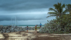 Fort Zachary Taylor Beach [Key West] (emptyseas) Tags: ocean sea usa west beach water landscape coast seaside nikon key florida fort outdoor atlantic shore taylor zachary sunbathers d800 emptyseas