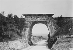 """""""Railway line and bridge in Sandycove, Co. Dublin"""" - is actually Newry's Egyptian Arch (National Library of Ireland on The Commons) Tags: arch egyptian 1890 railwaybridge countydown macneill newry glassplate countyarmagh egyptianarch joshuahhargravecollection joshuahhargrave possiblecataloguecorrection joshuahhargreavecollection"""