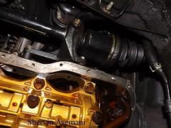 Mastermanship 4 by Shervin Asemani (59) (SheRviNRRR) Tags: removal melted piece oil pan gasket lower portion engine block