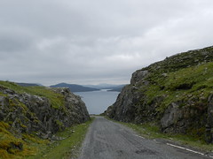 Road to Reinigeadal, Isle of Harris, June 2016 (allanmaciver) Tags: reinigeadal harris road route through steep tight narrow rocks islands western isles allanmaciver