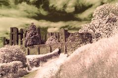 Ruins (David Feuerhelm) Tags: nikkor castle ruin historic old kenilworth warwickshire england clouds nikon d90 infrared