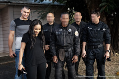 Avec Lucie (stef974run) Tags: police karaté bommert championne policenationale gipn muaythaï fipn lucieignace florentkaouachi