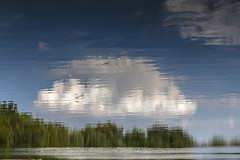 Thought (LarryHB) Tags: abstract art horizontal clouds photography tranquility photooftheday observing