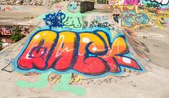 Liverpool Graffiti (cocabeenslinky) Tags: park street new city uk england urban streetart bird art june liverpool writing garden botanical lumix graffiti photo triangle paint artist photos letters culture palace can baltic spray panasonic skatepark rack jamaica skate writers graff gin artiste merseyside 2016 dmcg6 cocabeenslinky