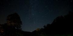 Rough Cut Lodge (George Dilworth) Tags: longexposure lightpainting stars astrology milkyway canon1740mml canon6d astrometrydotnet:status=solved astrometrydotnet:id=nova1632298