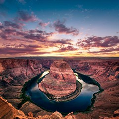 Horseshoe Bend (Gregory Lebreton | Photography) Tags: travel sunset arizona usa nature beautiful beauty landscape outdoors nikon rocks d800 horseshoebend d800e