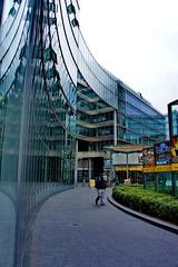 Curvy (Pl Bmgarr) Tags: berlin germany sony center glas glass reflection curve modern paul baumgart europe nex nex5 deutschland potsdamerplatz
