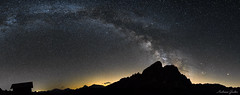Milchstrae (andygruber95) Tags: panorama nacht landschaft sdtirol peitlerkofel wrzjoch milchstrase nikond5300 samyang16mm